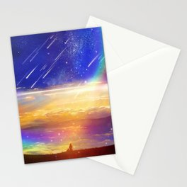 Waiting for a New Day Stationery Cards