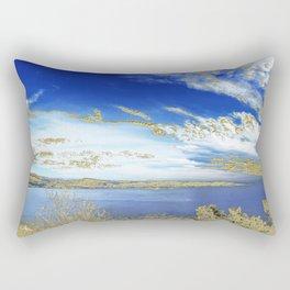 Orencyel walking inThéoule Rectangular Pillow