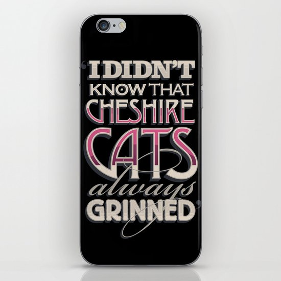 Cheshire Cats iPhone & iPod Skin