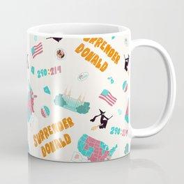 Surrender Donald Coffee Mug