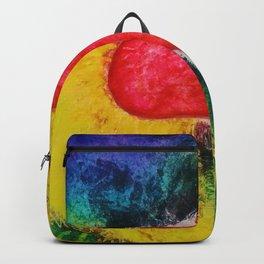 A Free Heart Aqua & Purple Backpack