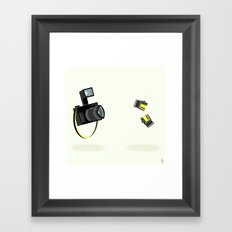Camera & Film Framed Art Print