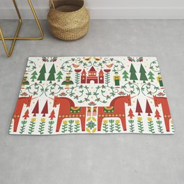 Scandinavian Inspired Fairytale Rug