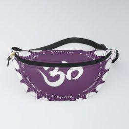 Crown Chakra #48w Fanny Pack