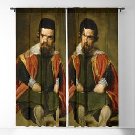 "Diego Velázquez ""Don Sebastian de Morra"" Blackout Curtain"