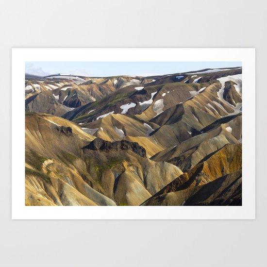 ICELAND II Art Print