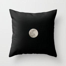 FULL MOON Throw Pillow