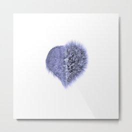 Messy Heart Metal Print