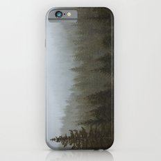 Snowy Forks Forest Slim Case iPhone 6