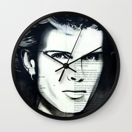 Young Idol Wall Clock