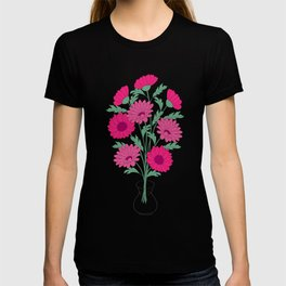 bouquet of dahlias in the vase T-shirt