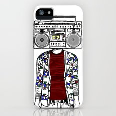 Radio daze iPhone (5, 5s) Slim Case