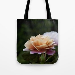 Lily Pad Rose Tote Bag