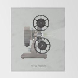 Cinema Paradiso Throw Blanket