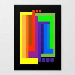Color Wheel Design Canvas Print