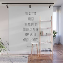 you are good enough Wall Mural