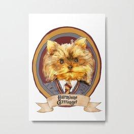 Hairy Pawter's: Hairmione Grrranger Metal Print