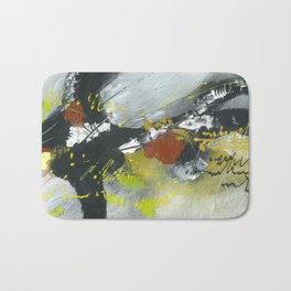 Colours of my mind by Australian Artist Vidy Potdar Bath Mat