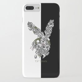 T.F TRAN CLASSIC FLORALS EASTER BUNNY LIMITED EDITION iPhone Case