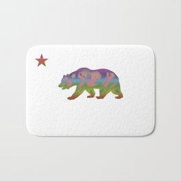 Colorful Bear Republic Bath Mat