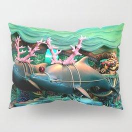 Christmas Dolphins Pillow Sham