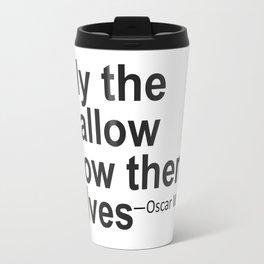 Only the Shallow Travel Mug