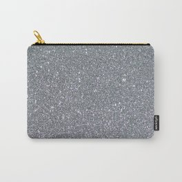 Two Toned Glitter Carry-All Pouch