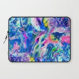 Bathbomb, fluid art, psychedelic art, trippy, psytrance, lsd, acid Laptop Sleeve