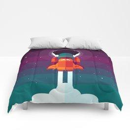 Into Spaaaace Comforters