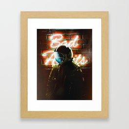 Habits Framed Art Print