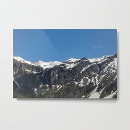 Avalanche Trail Metal Print