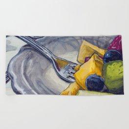 Fruit Salad Beach Towel