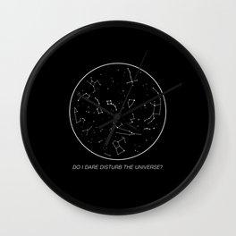 Do I Dare Disturb the Universe? Wall Clock
