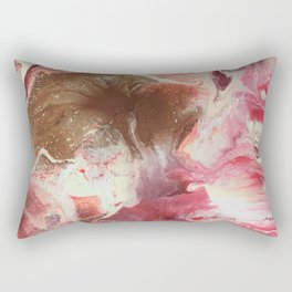 Feathers in the wind / detail Rectangular Pillow