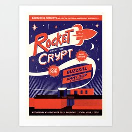 Rocket From The Crypt Art Print