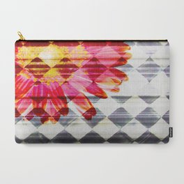 Black and White meets Color I Carry-All Pouch