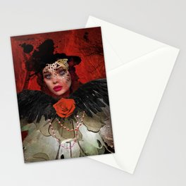 Just a Lady Stationery Cards