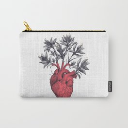 Blooming heart Carry-All Pouch