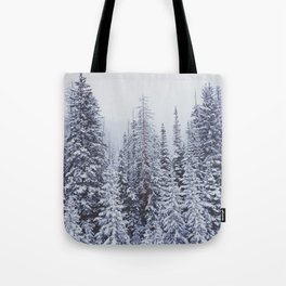 MORE SNOW Tote Bag