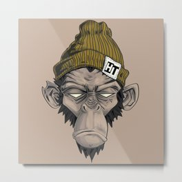 Monkey HT Metal Print