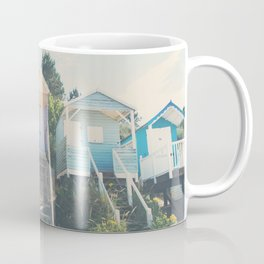beach huts photograph Coffee Mug
