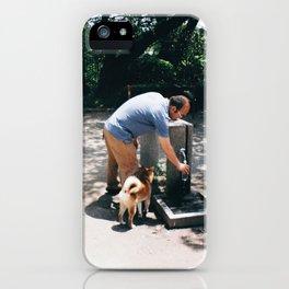 It's not hachiko iPhone Case