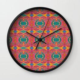Ornament Flowers Wall Clock