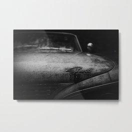 Old Plymouth Car Metal Print