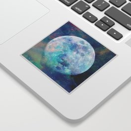 Moon + Stars Sticker
