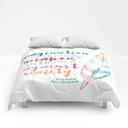 Alice In Wonderland | Quote 1 Comforters