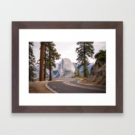Road to Half Dome Framed Art Print