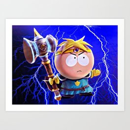 Thor Butters Art Print