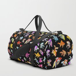 Electric Neon Black Aquarium Duffle Bag