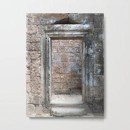 The Doorway to Nowhere Metal Print
